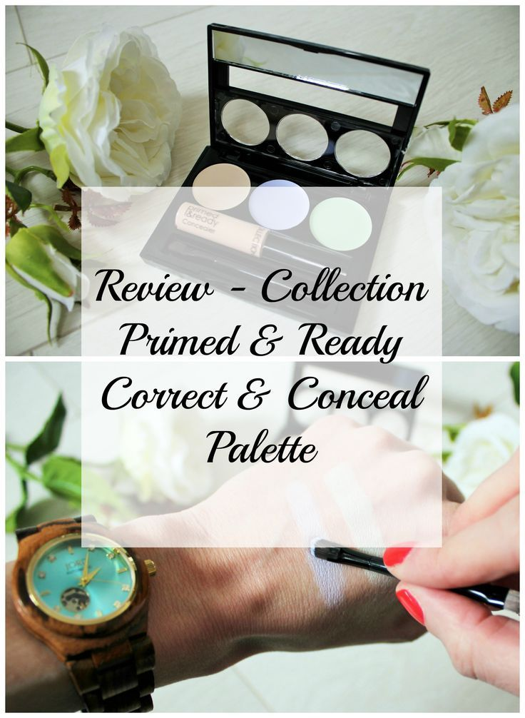 Collection Primed & Ready Correct & Conceal Palette Best