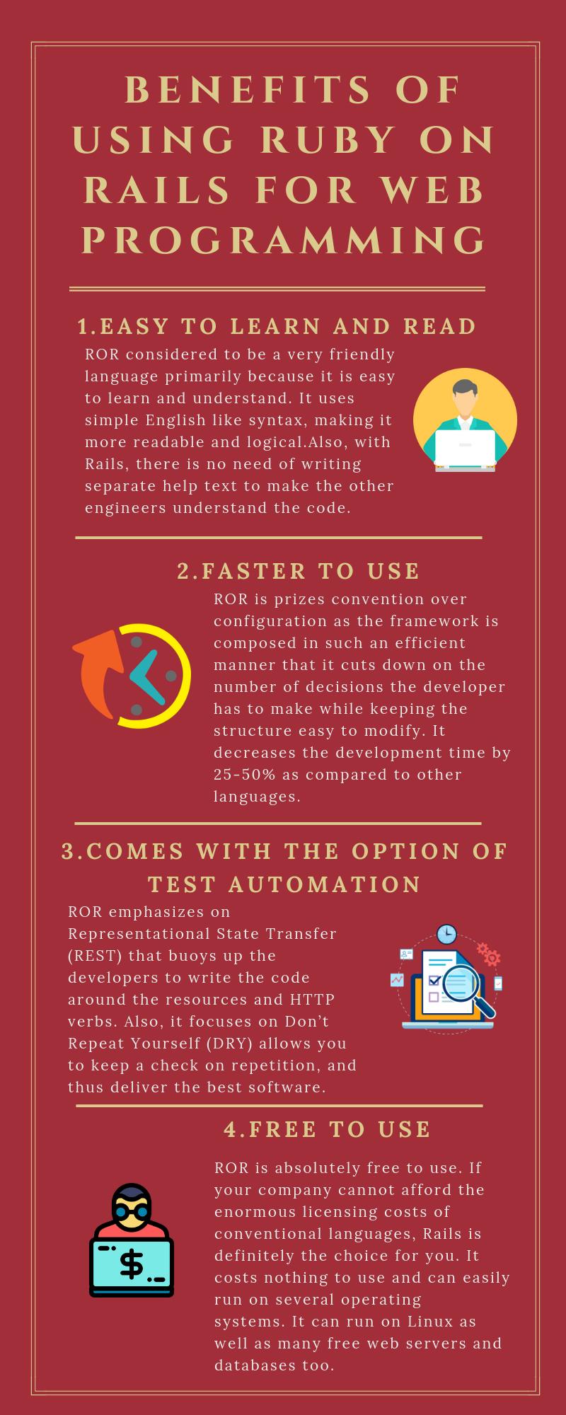 Ruby on Rails Application Development Mobile application