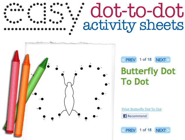 Easy Dot To Dot Printables: Dot To Dots Help With Rote