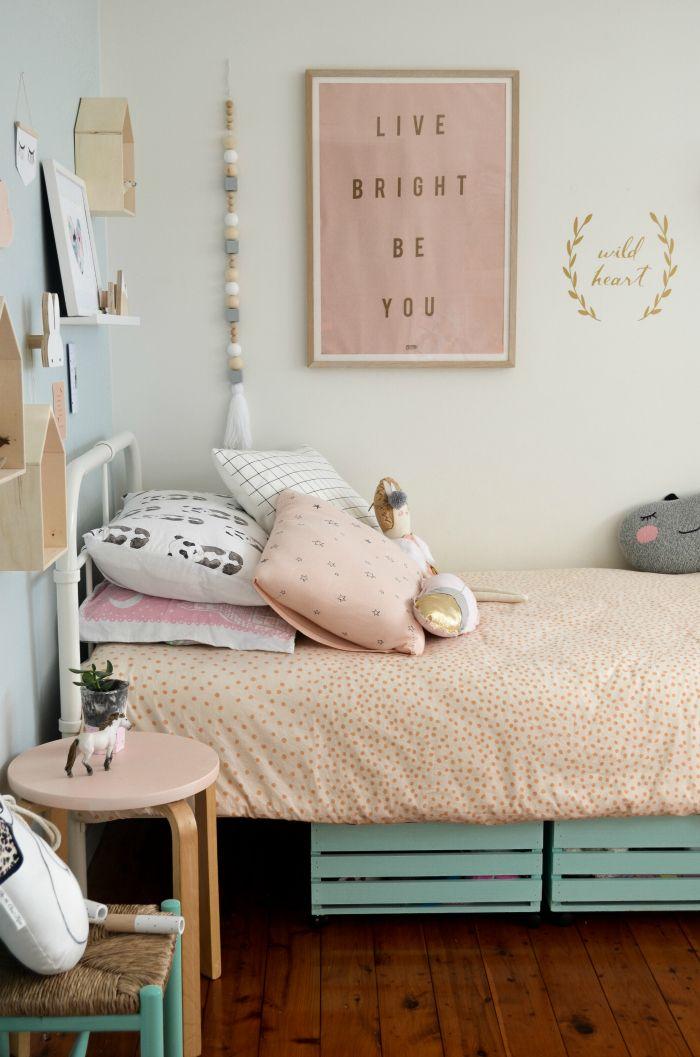 Una habitación infantil llena de ideas Diy   Decoraciónes y cuartos ... 88b0172d1320