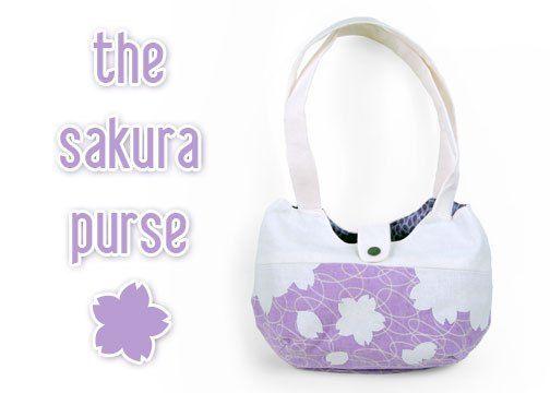 The Sakura Purse - Free PDF Pattern + Tutorial