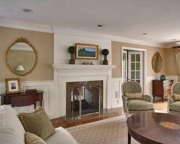 Best Traditional Living Room Wall Color Powel Buff Benjamin 400 x 300