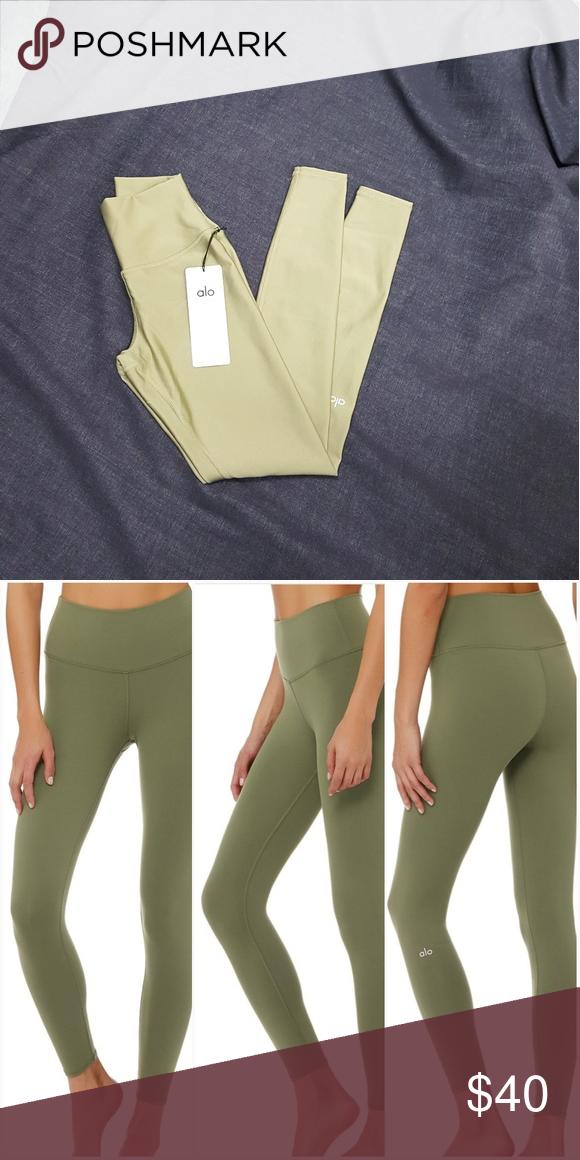 2df37a38a934a alo leggings must have olive color leggings ALO Yoga Pants Leggings ...