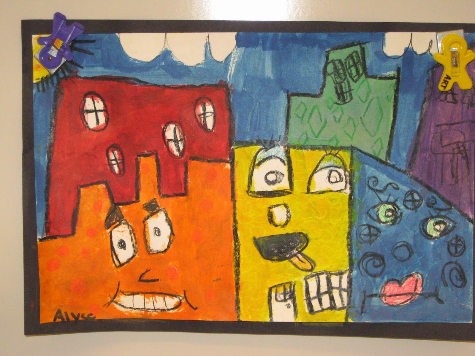 Jamestown Elementary Art Blog | Elementary art, Teaching
