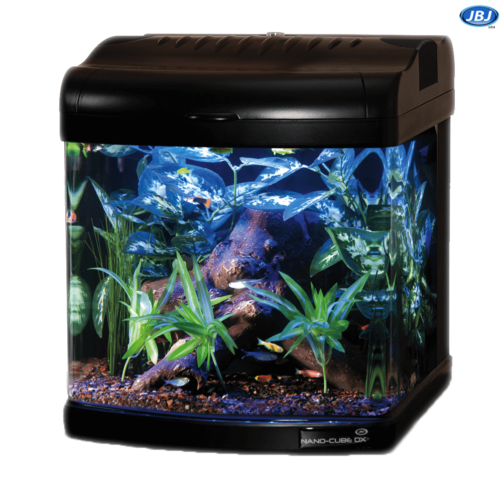 Jbj 28 Gallon Nano Cube Led Aquarium With Cabinet Stand On Sale 669 97 Nano Aquarium Aquarium Gallon