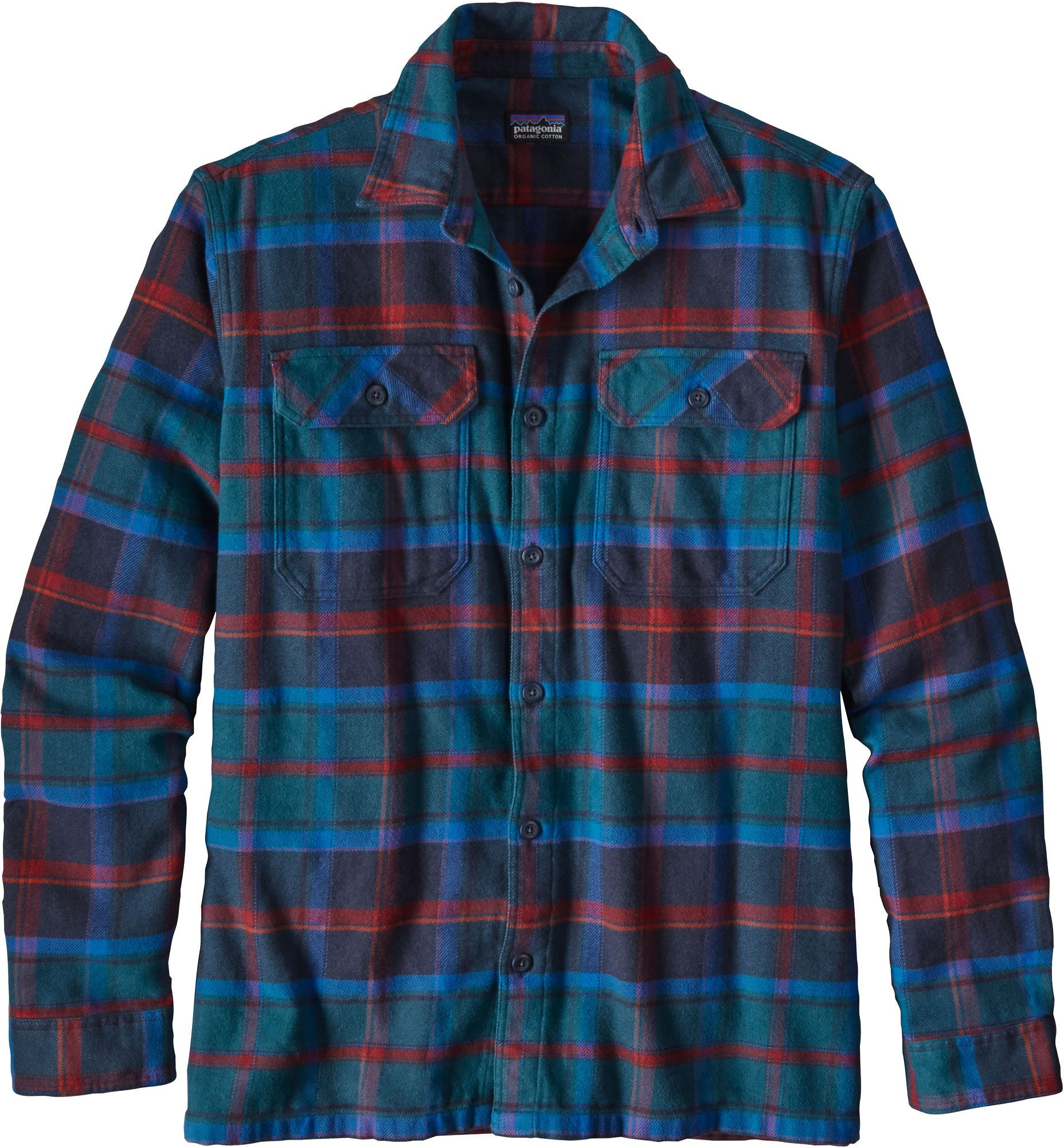 Button up flannel shirts  Patagonia Menus Fjord Flannel Button Up Long Sleeve Shirt  Products