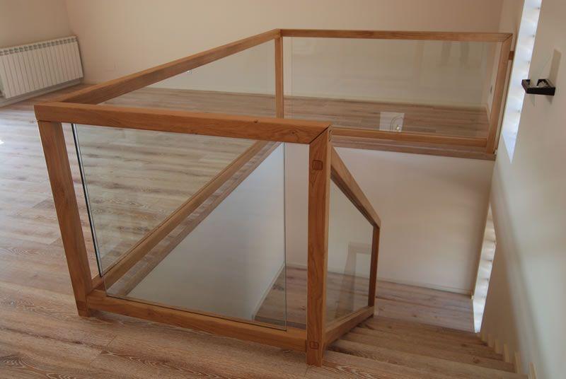 escaleras de cristal y madera - Buscar con Google Barandales