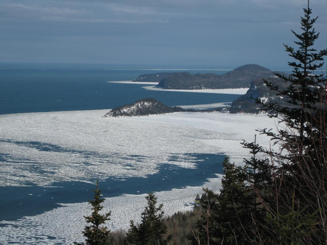 Le parc national du bic l 39 hiver au bas saint laurent for Parc du bic
