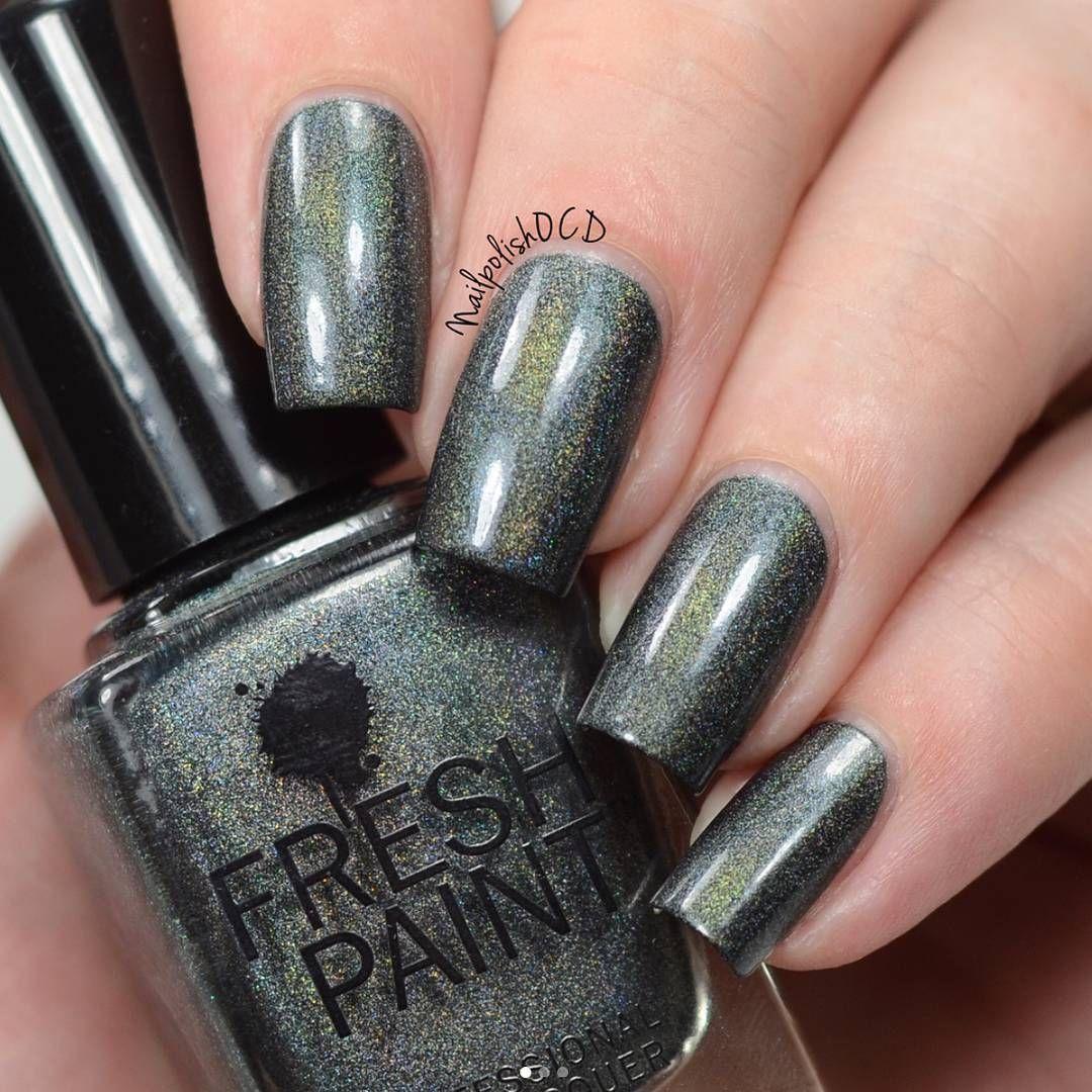 Fresh Paint Nail Polish Holographic