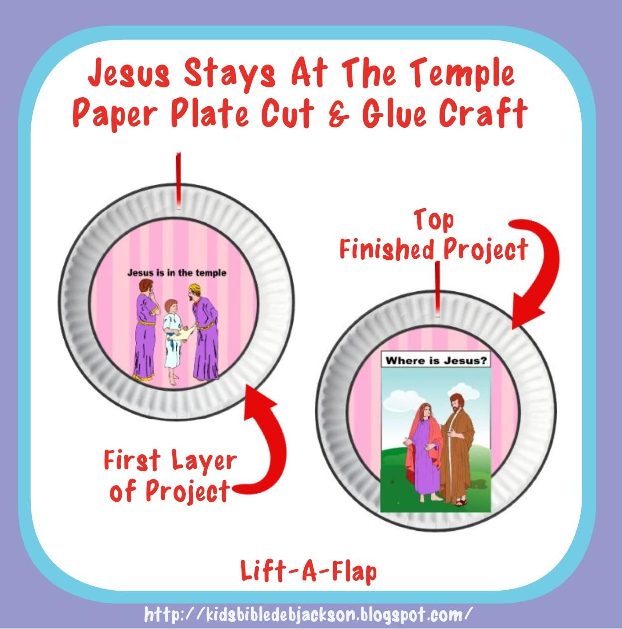 Bible class for How to make paper temple