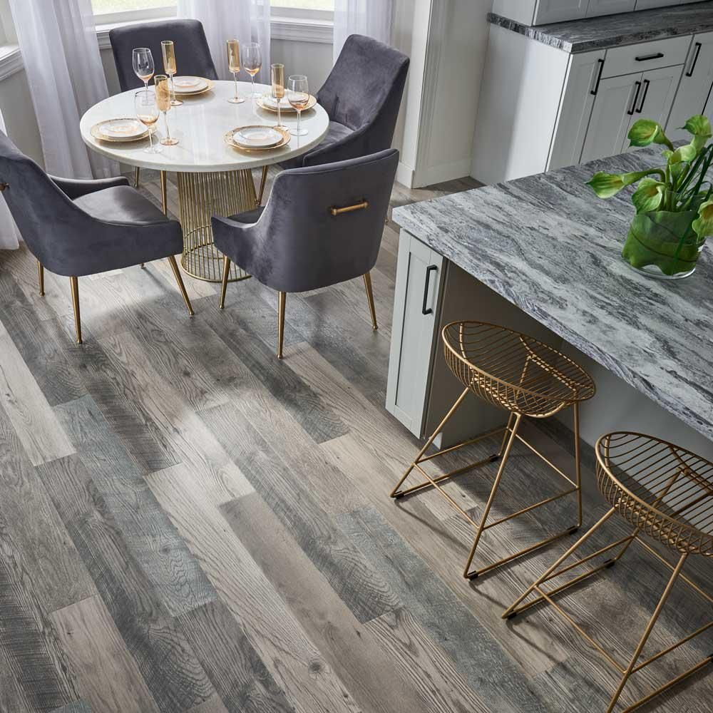 Pergo Outlast+ Waterproof Highrock Grey Oak 10 mm T x 6.14