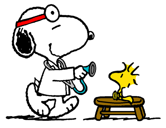 The world famous family doctor | Charlie Brown, Snoopy and ...