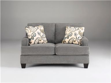 Yvette   Steel   Loveseat By Ashley Furniture. Get Your Yvette   Steel    Loveseat At Furniture Source, Clive IA Furniture Store.