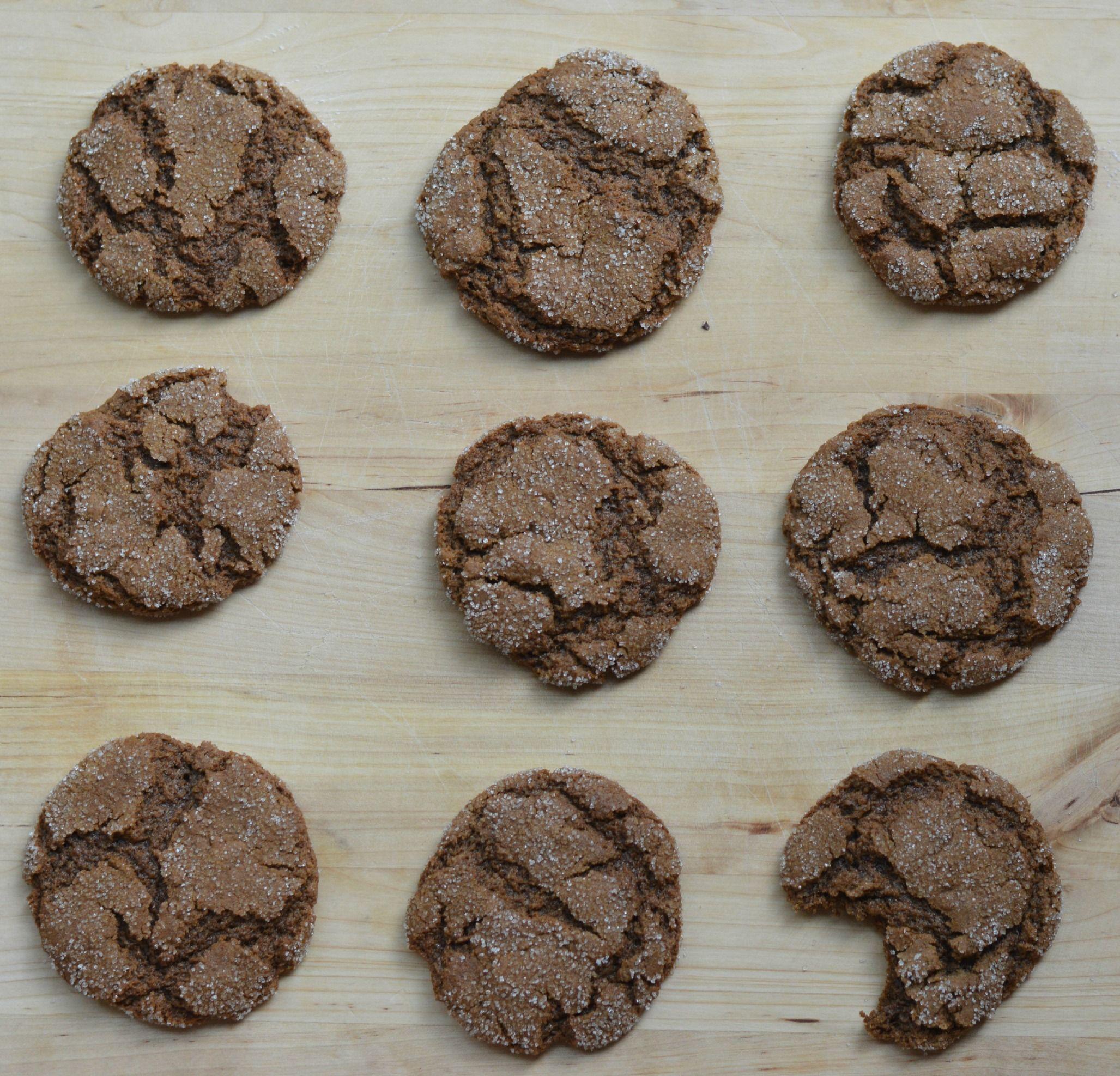 Mrs. Buerschaper's Molasses Crinkles