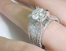 Beautiful bridge diamond ring Rings to die for Pinterest
