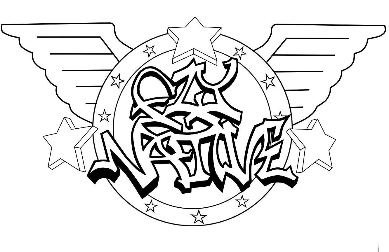 Fly Native Graffiti Logo Alt. Wings by VulcanX on DeviantArt