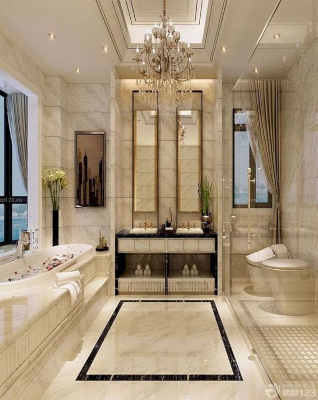 15 Elegant Bathroom Ideas to Steal | Bathroom design ...