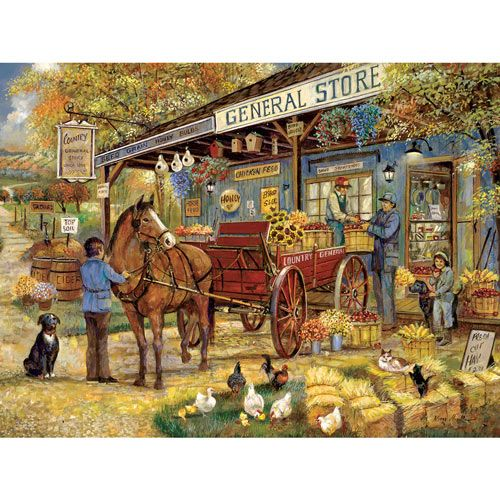 A Visit To The General Store 1000 Piece Jigsaw Puzzle in ...