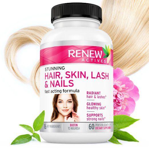1 Best Hair Skin Lash Nails Promotes Healthy Longer Hair Radiant