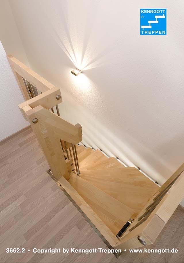 Hangetreppe Stufen Ahorn Mc Kenngott Hangetreppe Mit Stufenmaterial Ahorn Mc Massivholz Mit Tragendem Rechteckholzhandlau Treppe Deckenverkleidung Holztreppe