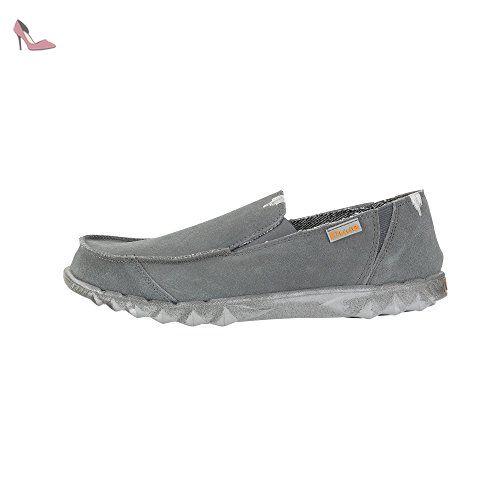 Dude Shoes Women's Valdaora Ladies Ash Suede Fur Lined Slipper UK3 / EU36 E4f6Fsa0D