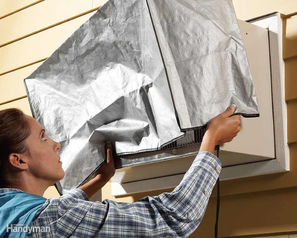 Slash Heating Bills Window air conditioner cover, Window