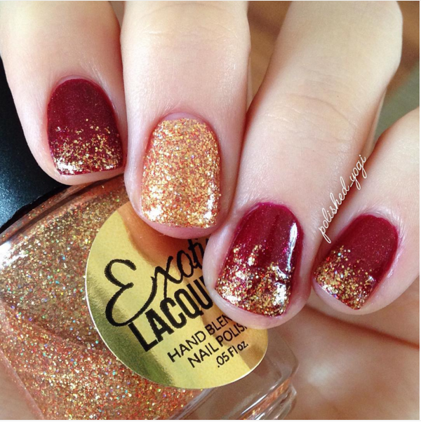 30 Totally Cute Christmas Designs For Short Nails | Pinterest ...