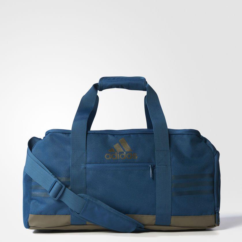 02fad19185 adidas Originals 3 Stripes Performance Team Bag Small Blue Fitness Gym  BR5137  adidas  Backpack