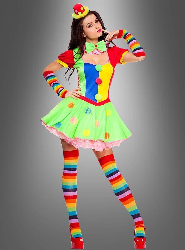 sexy clownfrau kost m ideen clown kost m damen clown. Black Bedroom Furniture Sets. Home Design Ideas