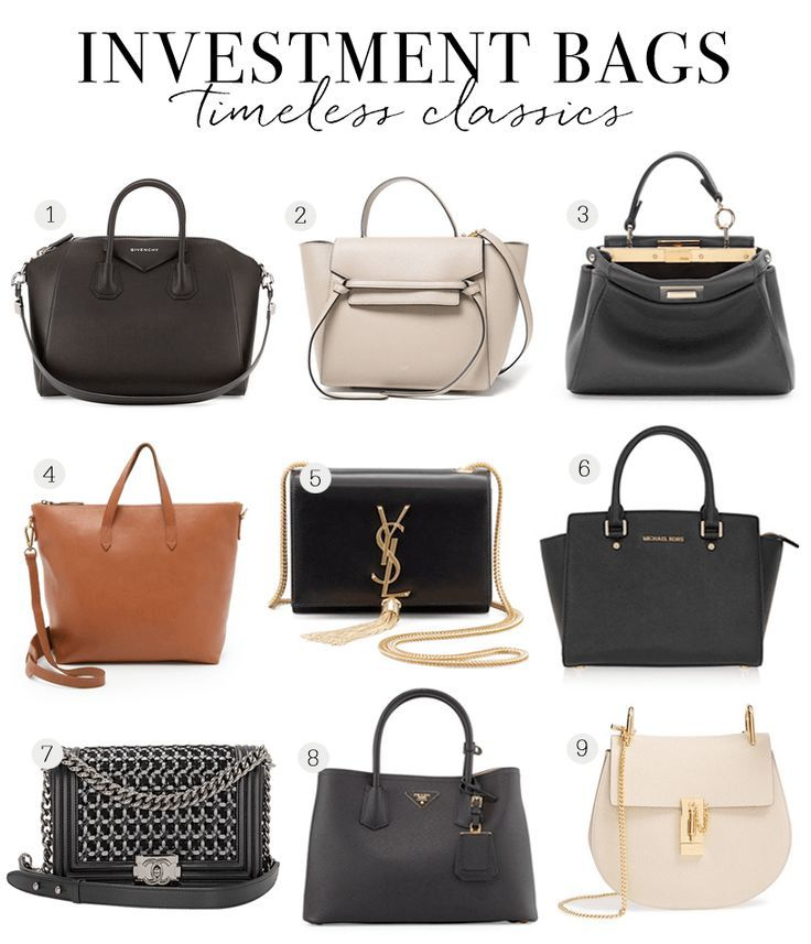 Tendance Sac 2017/ 2018 : Bags Worth the Investment ...