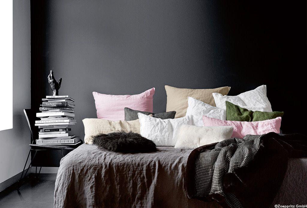 Hochwertige Bettwasche Aus Rohleinen In Verschiedenen Farben Hochwertige Bettwasche Bett Ideen Wohnen