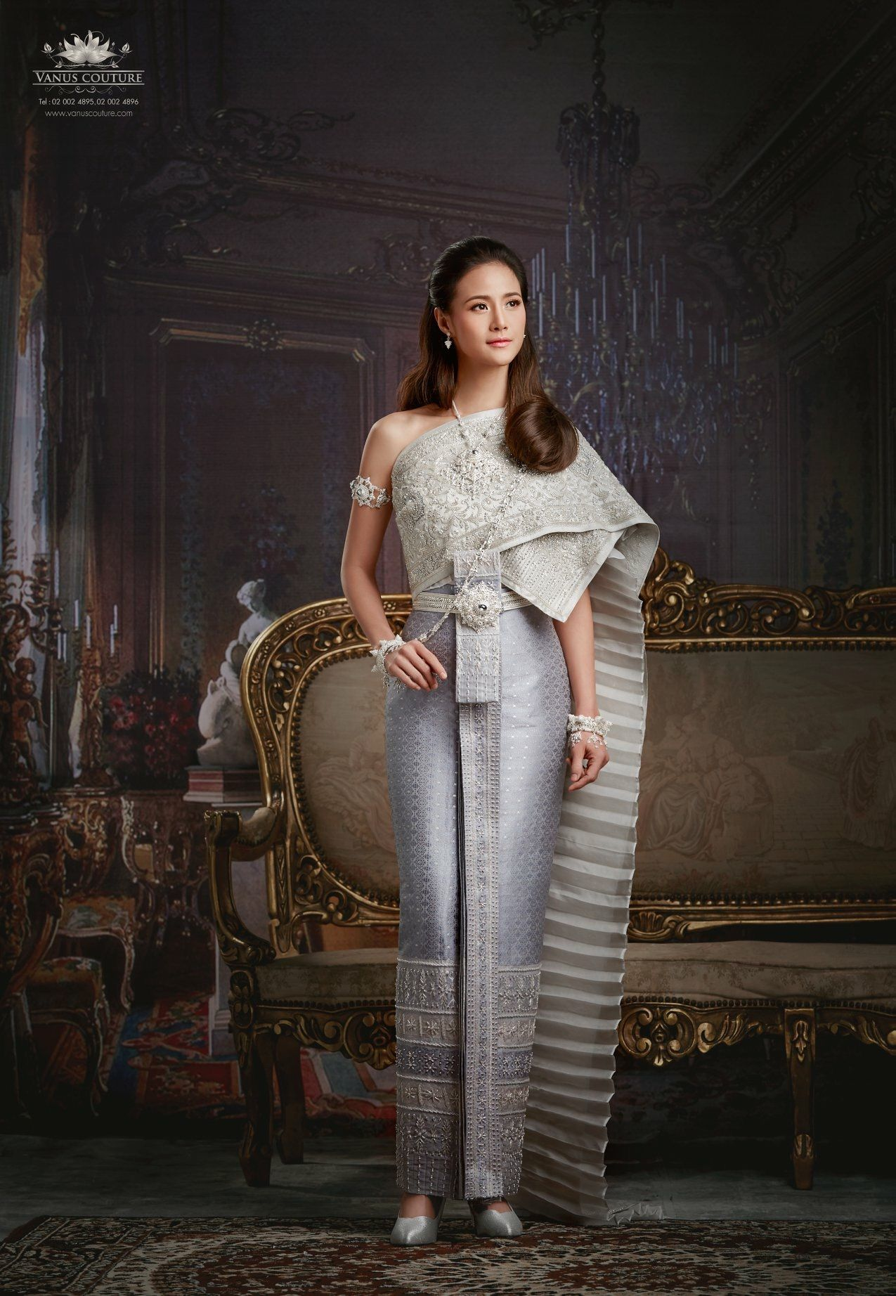 Pin by busakorn williams on home in pinterest thai dress