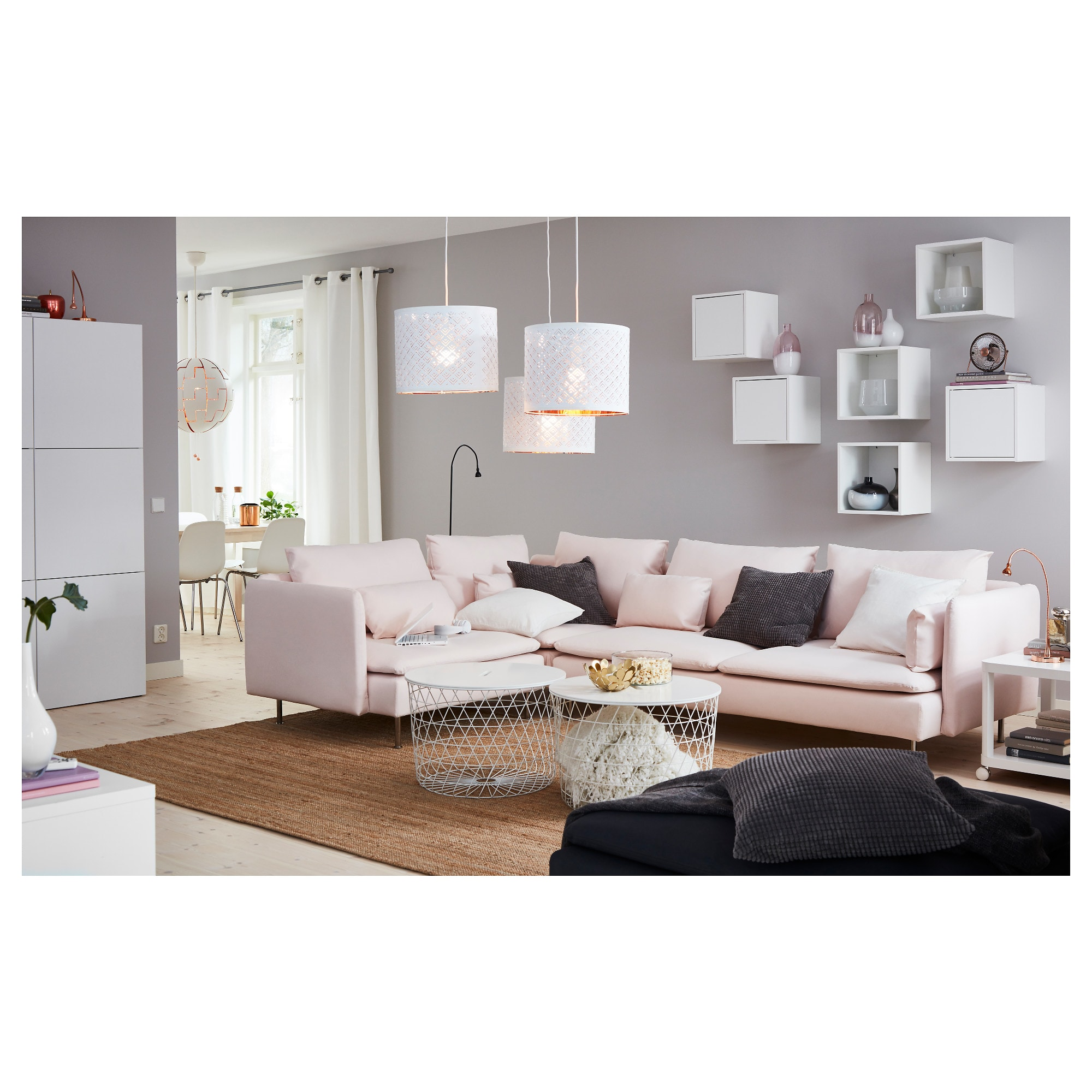 Living Room Furniture Ikea: IKEA - KVISTBRO Storage Table White In 2019