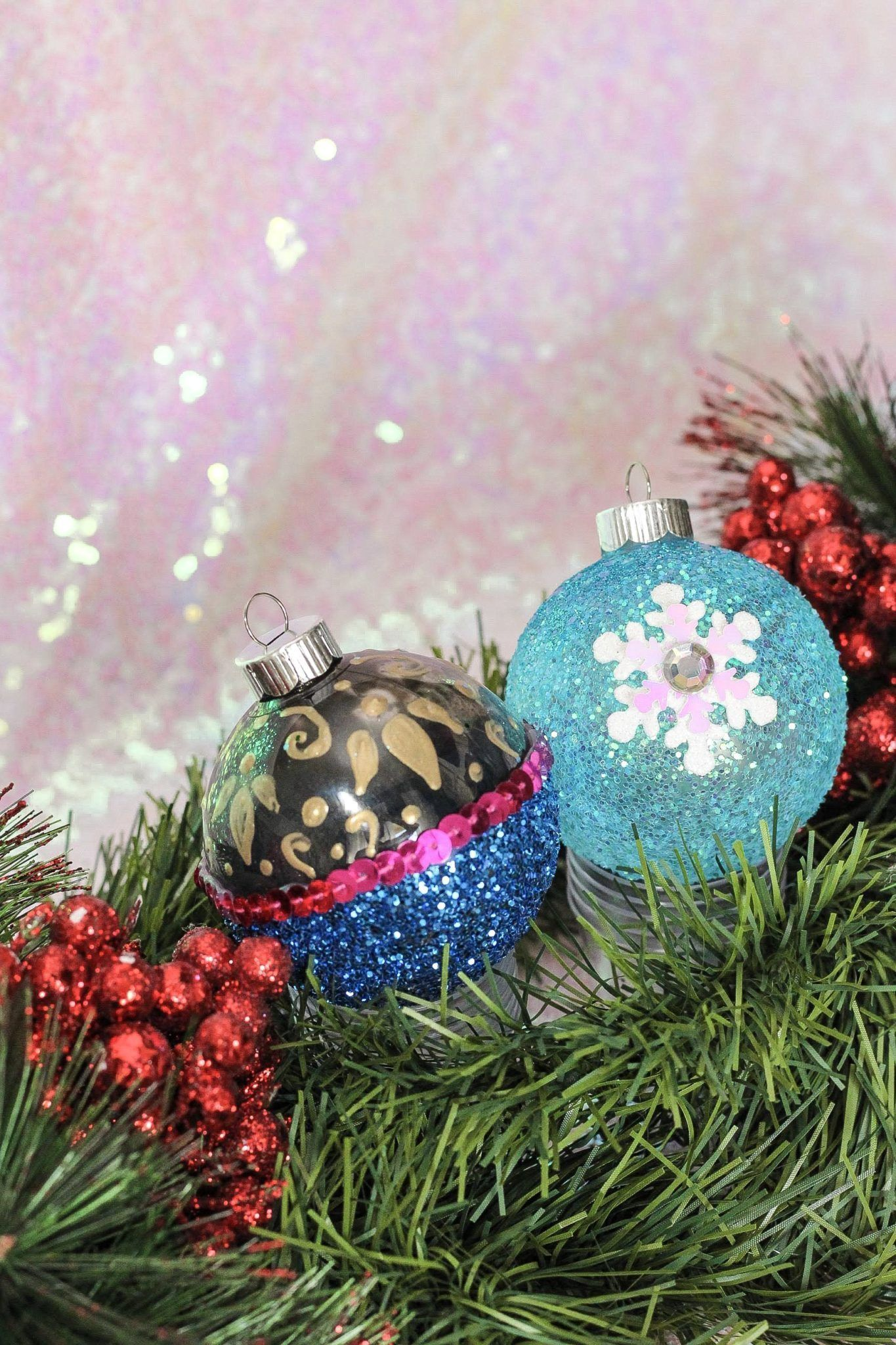 Easy Diy Disney Ornament For Christmas Inspired By Disney Princesses Disney Christmas Ornaments Disney Ornaments Diy Disney Christmas Diy