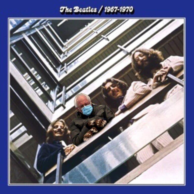 200 Of The Funniest Bernie Sanders Mitten Memes In 2021 The Beatles Vinyl Music The Red Album