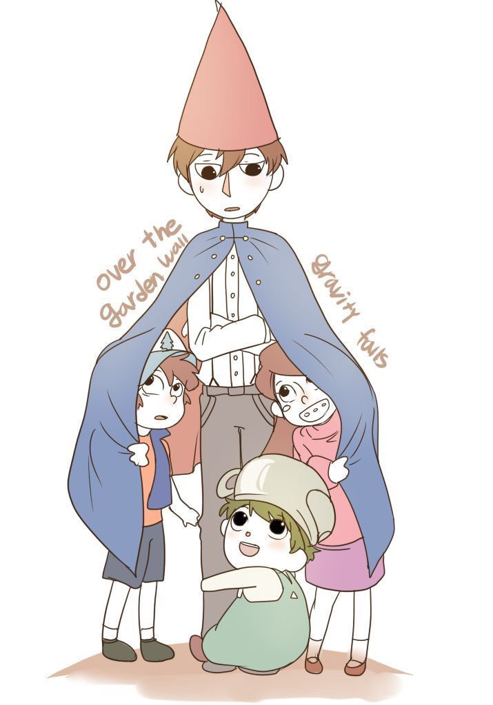 Everything Over The Garden Wall Over The Gravity Falls Gravity