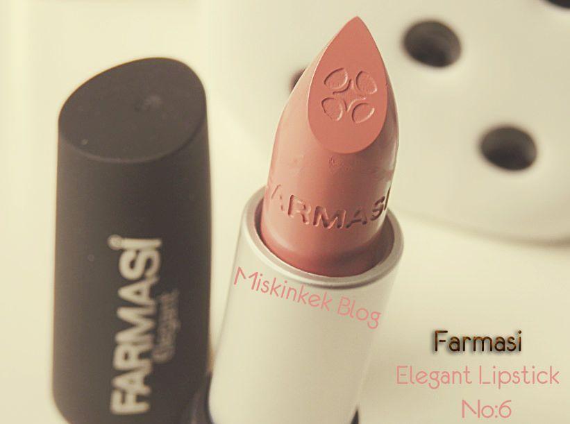 Farmasi Kozmetik Nude şeftali Ruj Farmasi Elegant Lipstick 06
