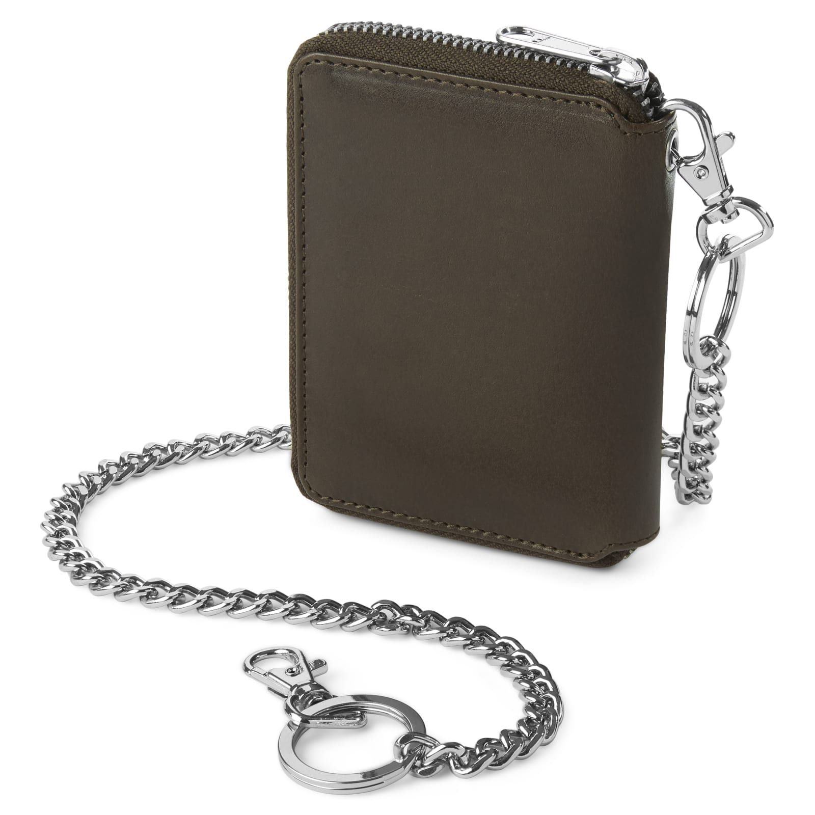 Photo of Larson Dark-Brown Leather RFID Wallet | In stock! | Lucleon