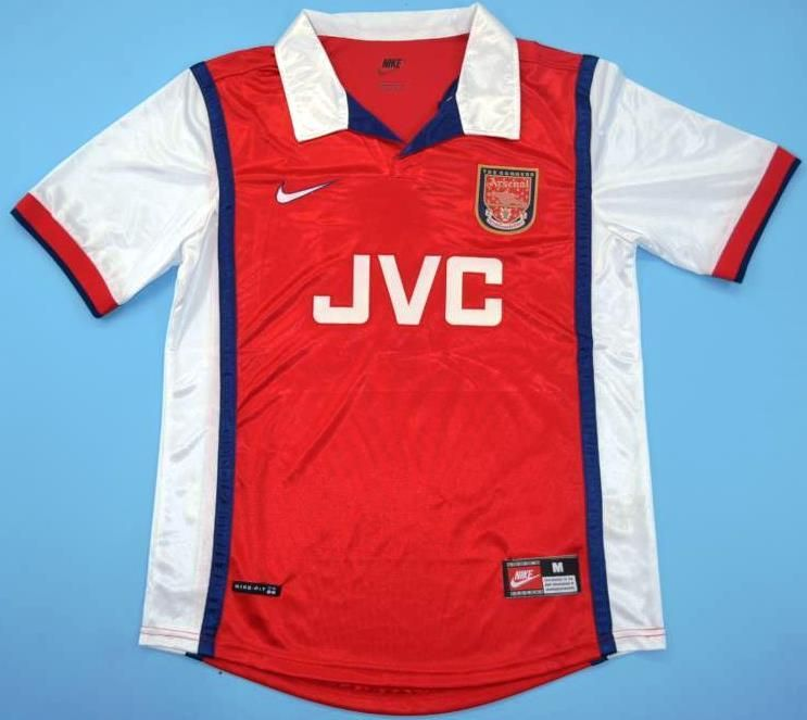 Maillot foot retro Arsenal 1998  c4e8495cf