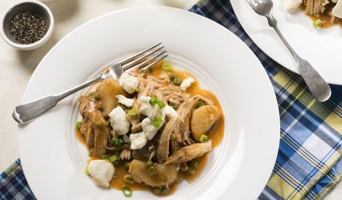 Fricassée de poulet galvaude - Surtout pour la sauce...
