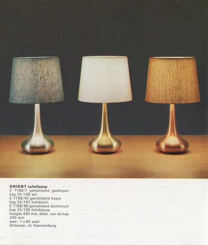 Vintage Danish table lamps.  Jo Hammerborg for Fog & Mørup: Orient table lamps  Orient table lamps  Design: Jo Hammerborg  Producer: Fog & Mørup  Source: Fog & Mørup catalogue  Date of publication: 1968