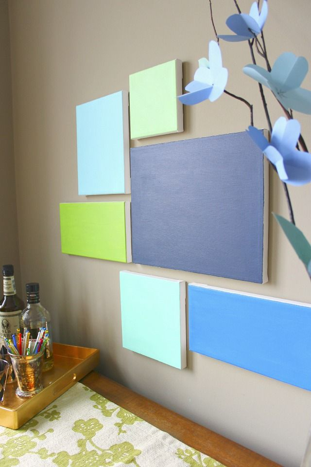Diy canvas art pinterest styrofoam wall art diy canvas and canvases diy styrofoam wall art do it yourself wall art solutioingenieria Image collections