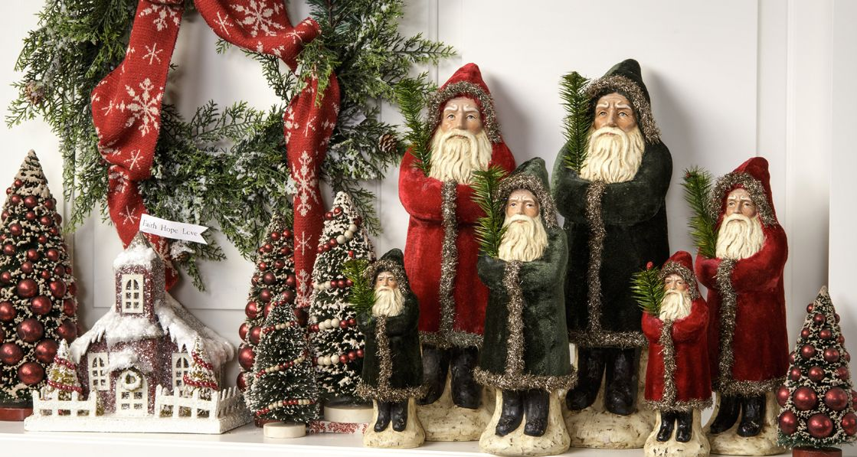 Ragon House Collection Home Primitive Christmas Decorating Vintage Christmas Ornaments Williamsburg Christmas