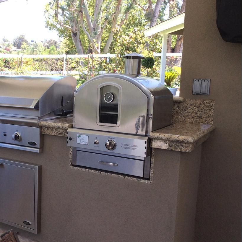 Pacific Living Built In Counter Top Propane Gas Outdoor
