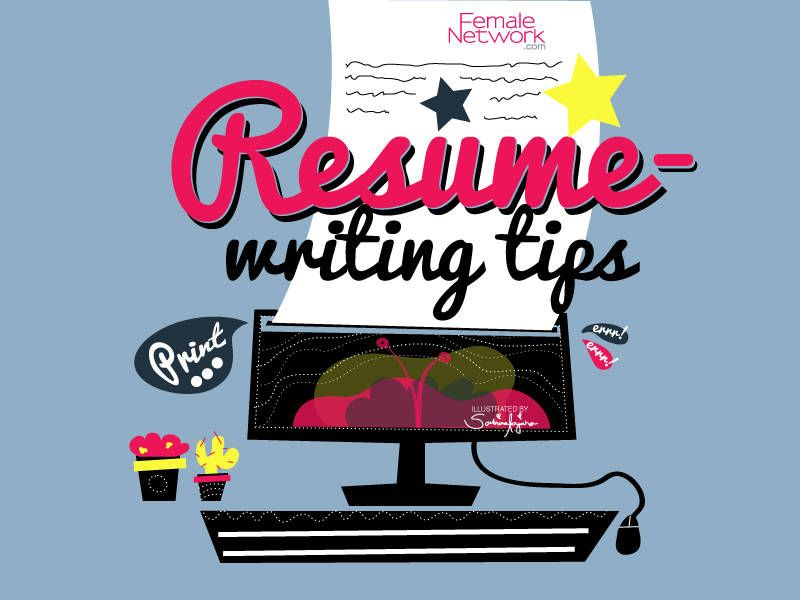 Put Your Best Foot Forward 5 Resume-Writing Tips Job Hunting