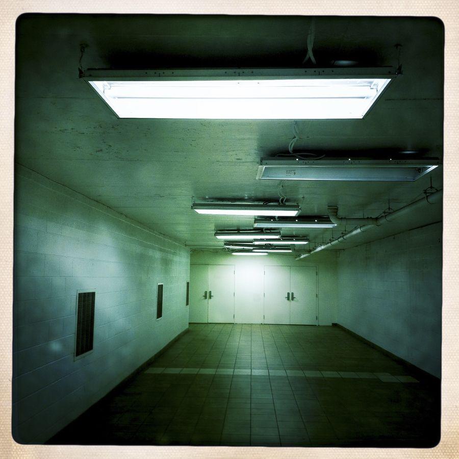 Ballston Common Mall - Dennis Dimick - #color, #light, #corridor
