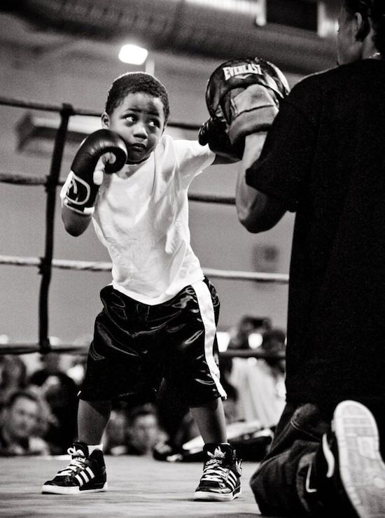THE FUTURE BOXING CHAMP NIJEE SHOW OFF HOW TRAINING AND DETERMINATION PAYS OFF!