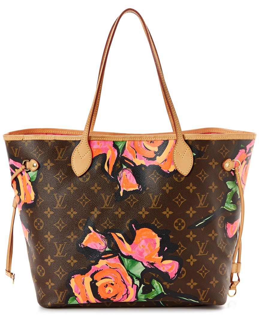 1308003291a0 Louis Vuitton Limited Edition Stephen Sprouse Roses Monogram Canvas  Neverfull MM is on Rue. Shop it now.