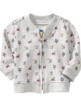 30677539d5df Flower-Print Bomber Jacket for Baby