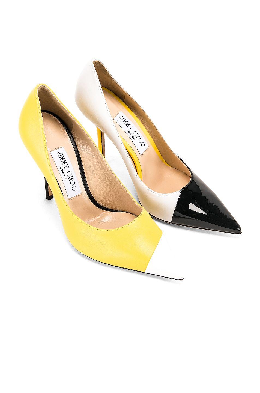 Fluo Yellow | FWRD | Heels, Jimmy choo